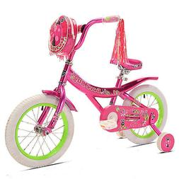 Kent Love Bug 14-Inch Girl's Bicycle in Pink/Green