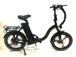 Green Bike USA LOW STEP folding Electric Bicycle 500W MOTOR+