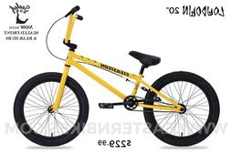 Eastern Lowdown BMX Bicycle-Yellow