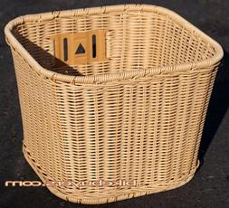Made in Taiwan, Fito Plastic Cane Wicker Woven Mounting Bask