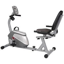 Sunny Magnetic Recumbent Exercise Bike with Pulse Rate Monit