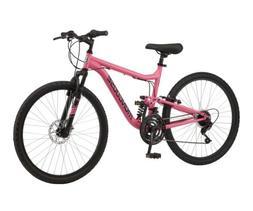 🔥Mongoose Major Mountain Bike 26 Inch Pink Women's Ship