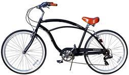 "26"" Huffy Men's Cranbrook Cruiser Bike, Charcoal"