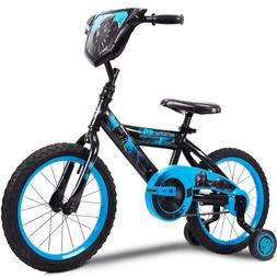 "Marvel Black Panther 16"" Boys' Single-Speed EZ Build Bike by"