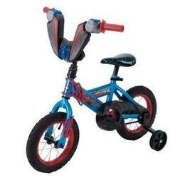 """Marvel Spider-Man 12"""" Boys' EZ Build Blue Bike Best Bikes"""
