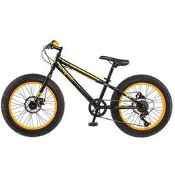 "20"" Mongoose Massif Boys' All-Terrain Fat Tire Mountain Bike"