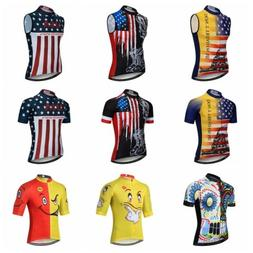 WEIMOSTAR Men Cycling Jersey Top Summer MTB Clothes Bicycle