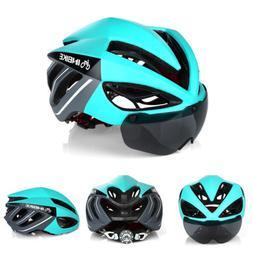 Men Lady Cycle Bike MTB Helmet Adjustable Size Open Face Bre