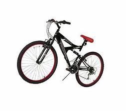 "Dynacraft Men's 26"" 21 Speed Equator Bike, 18""/One Size, Bla"