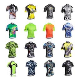 Men's Cycling Jersey MTB Team Bike Jerseys Tops Bicycle Clot
