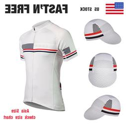 Men's Cycling Jerseys Bike Cycle Caps Hat Bicycle Racing Shi