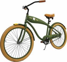 Men's Liberator 26-Inch Retro Cruiser BikeVintage Bicycle