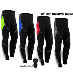 Men Thermal Winter Cycling Pants Tights Trouser Bike Bicycle