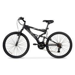 Mens Mountain Bike Bicycle 21 Speed Shimano Aluminum Full Su