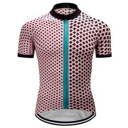 Mens Road MTB Cycling Jersey Bike Shirt Short Sleeve Tops Cl
