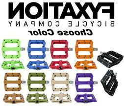 FYXATION Mesa MP MTB Bike Platform Sealed Pedals Face w/Pins