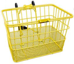 Sunlite Standard Mesh Bottom Lift-Off Basket w/Bracket, Yell