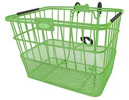 Treasure Gifts Mesh Bottom Lift-Off Basket w/Bracket, Green