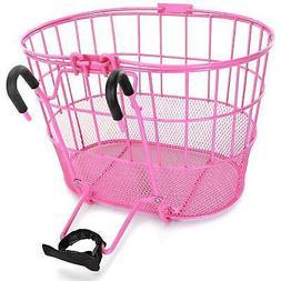 Colorbasket 02256 Mesh Bottom Lift-Off Bike Basket, with Han