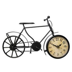 Better Homes and Gardens Metal Bicycle Table Clock
