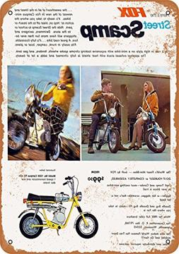Wall-Color 7 x 10 Metal Sign - 1969 Fox Street Scamp Mini-Bi