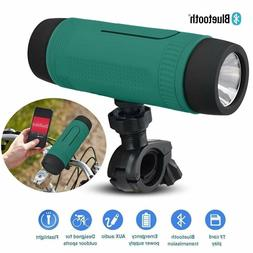 Mini 4in1 LED Flashlight with Bluetooth Speaker FM Waterproo