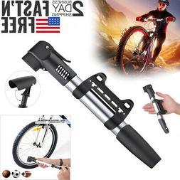 Mini Compact Design Bicycle Pump Bike Air Stick Presta Schra