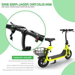 Mini Electric Bike Portable Bicycle Performance Motor Lithiu