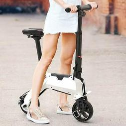 Mini Folding Electric Bike Portable Moped E-Bicycle 20 Km/h