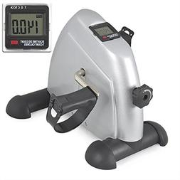 Mini Pedal Exerciser w/ LCD Display Indoor Exercise Bike Res