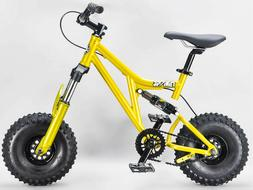 Mini Rig Down hill mini BMX bike GOLD rocker select wheel an