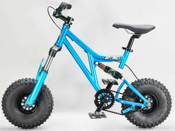 Mini Rig Down hill mini BMX bike TEAL rocker select wheel an