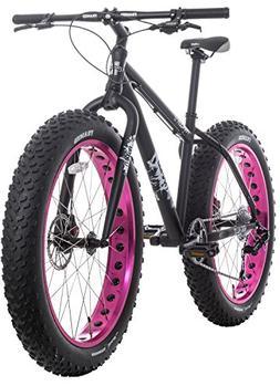 """Framed Minnesota 1.0 Fat Bike Black/Pink Womens Sz 17"""""""