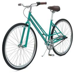 Critical Cycles Mixte 3-Speed City Coaster Commuter Bicycle,