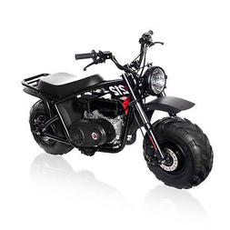 Monster Moto MM-B212-RB Gas Mini Bike with Front Suspension,