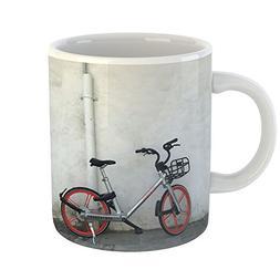 Westlake Art - Mobike Wall - 11oz Coffee Cup Mug - Modern Pi