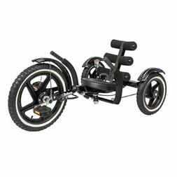 Mobo Tri-202BK: Mobito Sports Rear Wheel Steering, Black, 26