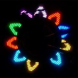 new model bicycle valve cap colorful light 7pcs colorful led