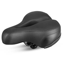 Most Comfortable Bike Saddle for Women - Wide Bicycle Seat w
