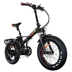 Addmotor MOTAN Electric Bikes Folding 750W 20Inch Fat Tire E