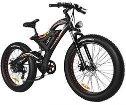 Addmotor MOTAN Electric Mountain Snow Beach Bikes Fat Tire 7