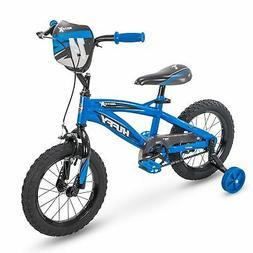"Huffy 14"" Motox Boys Bike, Gloss Blue"