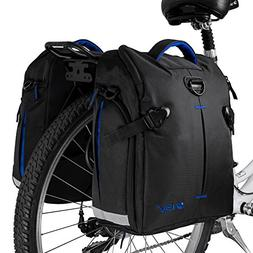 Pannier Bags Bicycle Rear Messenger Double Grocery Mountain