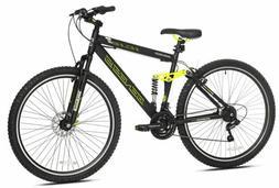 "Genesis Mountain Bike 29"" Aluminum Suspension Frame Bicycl"