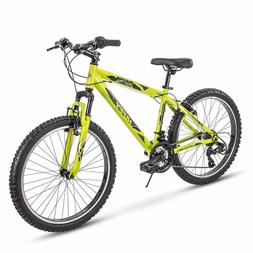 Huffy Hardtail Mountain Trail Bike, Tekton, 21 Speeds, Assor