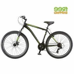 "Schwinn Mountain Bike Black 26"" 21 Speed Disc Brake Shimano"