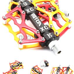 Alston Mountain Bike Pedals, Ultra Strong Colorful Cr-Mo CNC