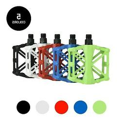 Mountain Bike Pedals Bicycle Flat Cycling Aluminum Alloy 9/1