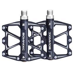 "BONMIXC Mountain Bike Pedals 9/16"" Cycling Four Pcs Sealed B"