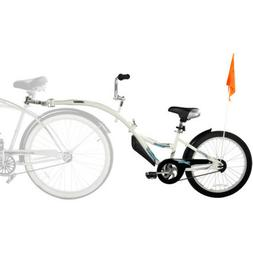 Mountain Bike Trailer Childs Kids Children Tow Behind Tandem